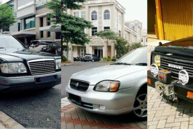 10 Mobil Bekas Murah di Bawah 30 Juta